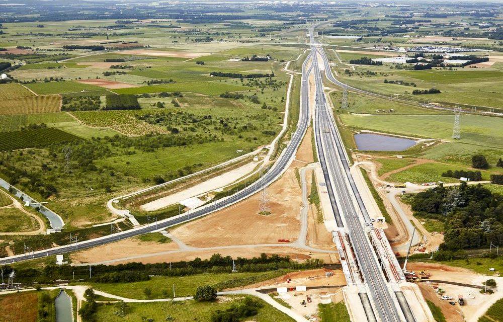 La ligne grande vitesse contournement Nimes-Montpellier (LGV-CNM)