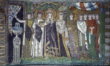 Image illustrant l'article Théodora et les dignitaires de la cour de Clio Collège