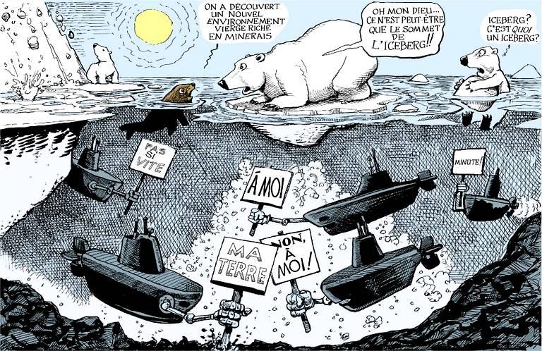 4e-Géo-T3C1 Mers et océans: l'Arctique, une nouvelle frontière