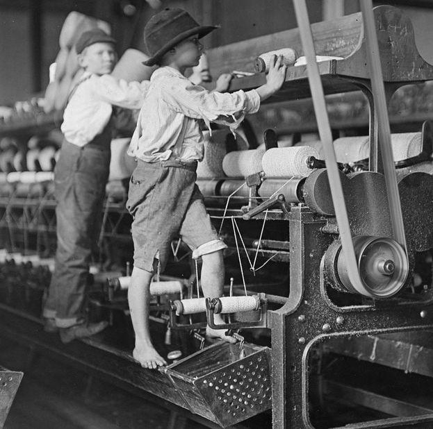 College 4ème EPI Histoire Anglais Industrial revolution and child labour