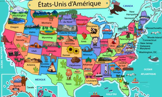 Les espaces du territoires des États-Unis (4e)