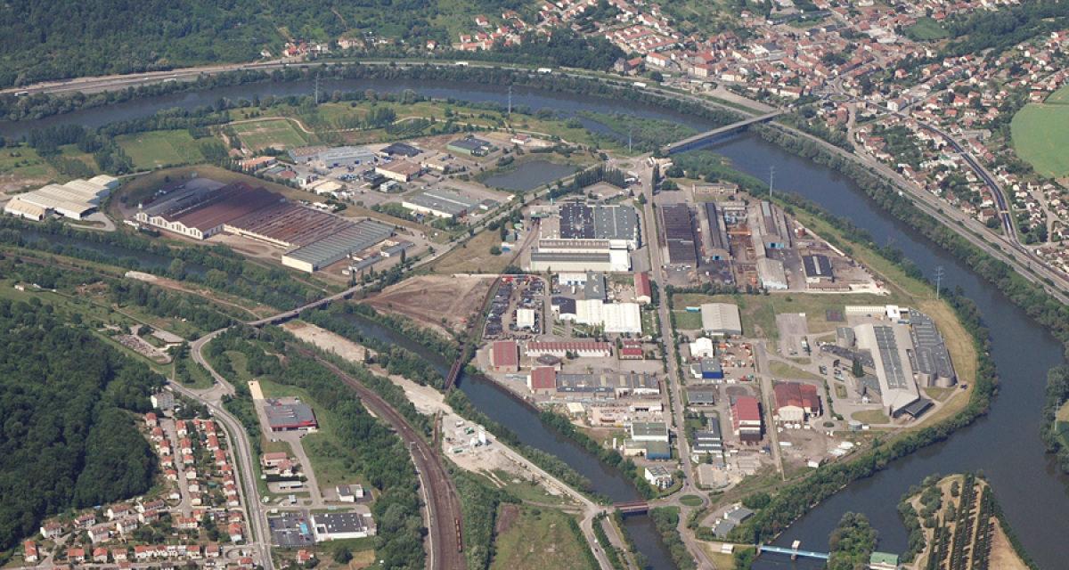 Pompey, reconversion d'un site industriel