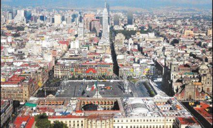 Image illustrant l'article Vue aérienne de Mexico de Clio Collège