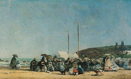 Image illustrant l'article Eugène_Boudin_la_Plage_de_Trouville de Clio Collège