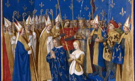 Image illustrant l'article Coronation_of_Louis_VIII_and_Blanche_of_Castille_1223 de Clio Collège