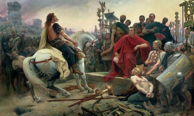 Travailler le récit autour de la bataille d'Alésia-6ème