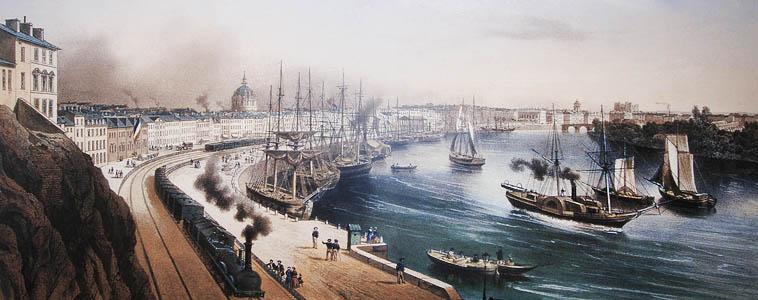 Les échanges commerciaux internationaux au XVIII° siècle