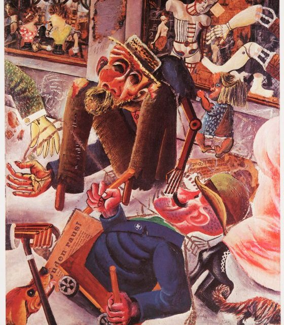 Les artistes du XX° siècle engagés dans la guerre : AP niveau 3e