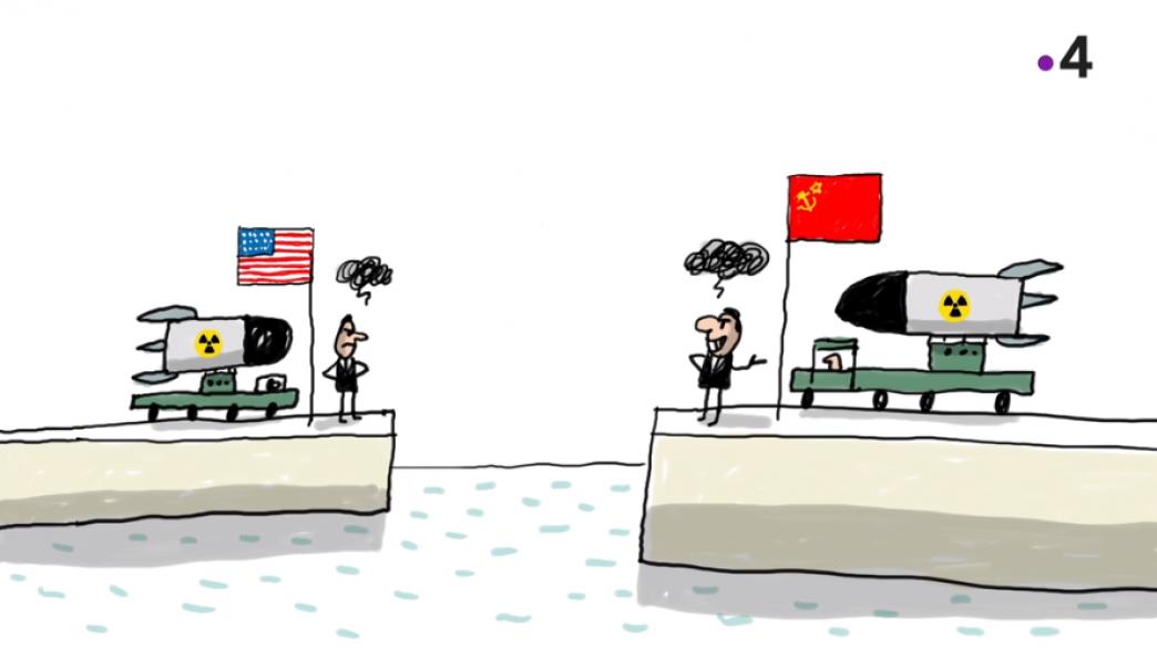 Le monde bipolaire de la Guerre froide