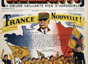 Image illustrant l'article 500.h3.4.dos.la-propagande-du-regime-de-vichy. de Clio Collège