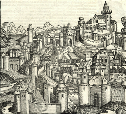 Proposition numérique 5E : l'émergence d'une nouvelle société urbaine (XIIe-XVe siècles)