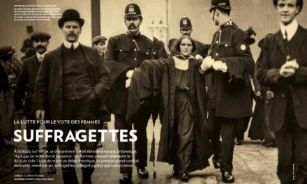Image illustrant l'article suffragettes de Clio Collège