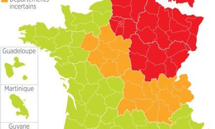 Image illustrant l'article Carte du déconfinement le 3 mai 2020 de Clio Collège