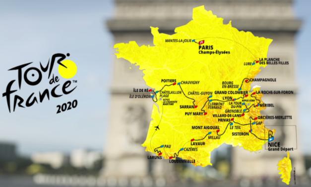 Sixième – Activité repères géographie – Tour de France