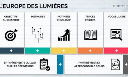 Image illustrant l'article lumieres de Clio Collège
