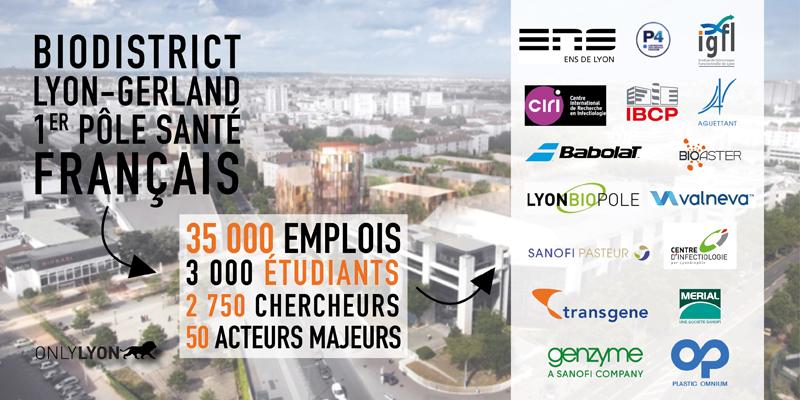 Laboratoire Gerland à Lyon
