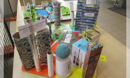 Tâche complexe sur la ville de demain: exemples de travaux d'élèves.