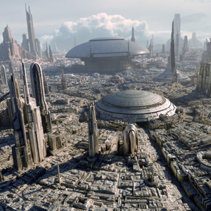 Coruscant, Star wars.