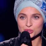 La chanteuse Mennel à l'émission de TF1