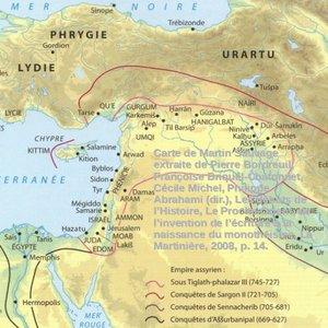 <small>Le Proche-Orient dominé par l'Empire assyrien (VIIIe-VIIe siècle AEC)</small>